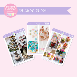 Photo boxes - cupcakes| decorative boxes | vertical | PH-134/2 to PH-134/4
