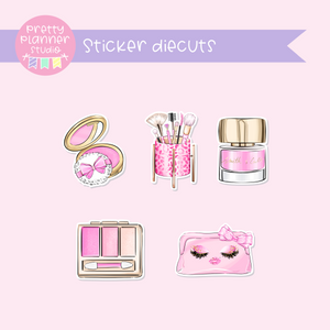 My pink boudoir - Glam | sticker diecuts | PI-005/1