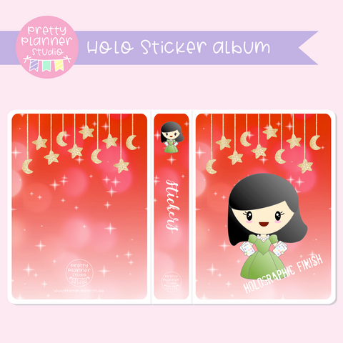 Planner girls - Mila - Celebration | holo sticker album | PM-006/3H