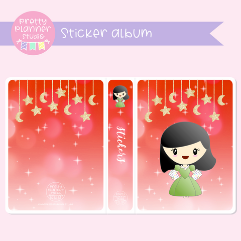 Planner girls - Mila - Celebration | sticker album | PM-006/3