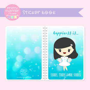 Planner girls - Mila - Happiness is | sticker book | PG-007/1