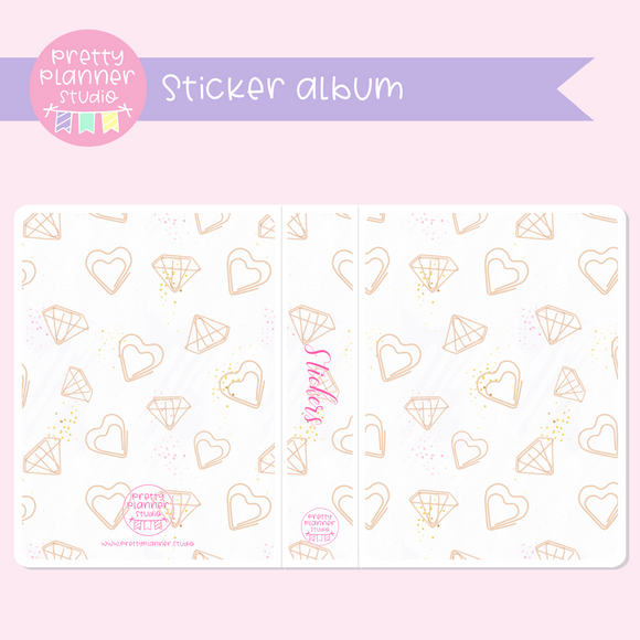 My pink boudoir - planning time - Paper clips | sticker album | PP-006/1