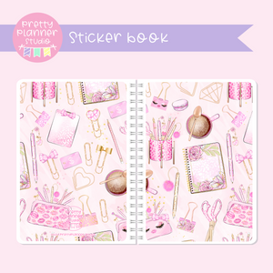 My pink boudoir - planning time - Accessories | sticker book | PP-007/2