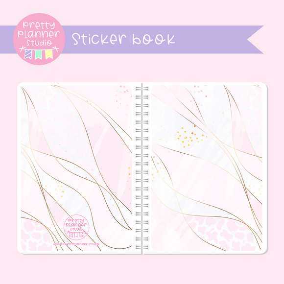 My pink boudoir - planning time - Layers | sticker book | PP-007/4