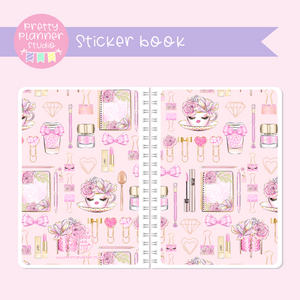 My pink boudoir - planning time - Pink planning | sticker book | PP-007/5