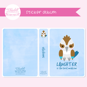 save our animals - laughter is the best medicine | sticker album | SA-902