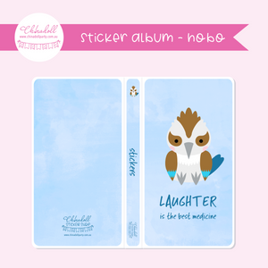 save our animals - laughter is the best medicine | sticker album - hobo weeks | SA-902