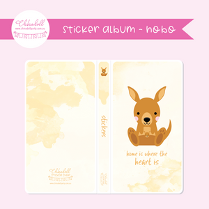 save our animals - home is where the heart is | sticker album - hobo weeks | SA-903