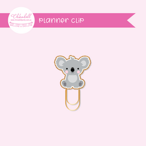 save our animals - koala | planner clip | SA-933