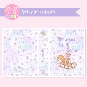Snow days - There's snow place like home | sticker album | SD-006/1