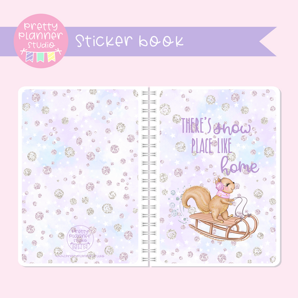 Snow days - There's snow place like home | sticker book | SD-007/1