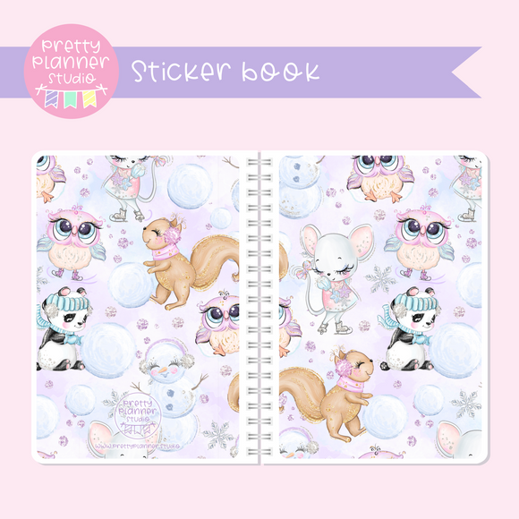 Snow days - Animal friends | sticker book | SD-007/3