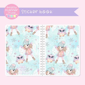 Snow days - Snow angels | sticker book | SD-007/4