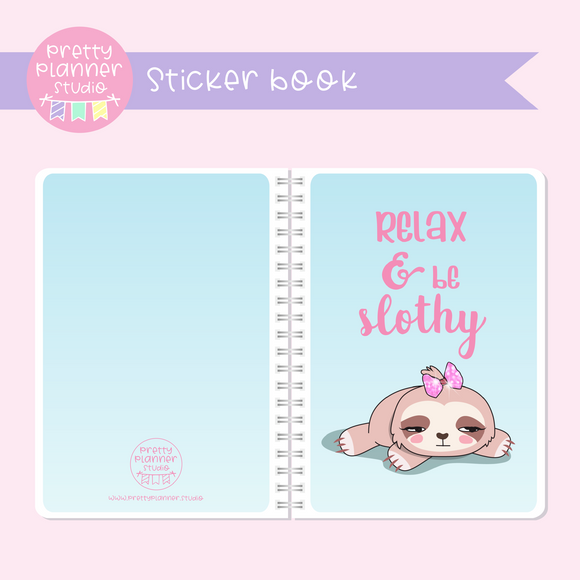 Sloth Life II - Relax & be slothy | sticker book | SL-007/2