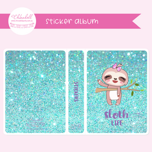 sloth life | sticker album | SO-901