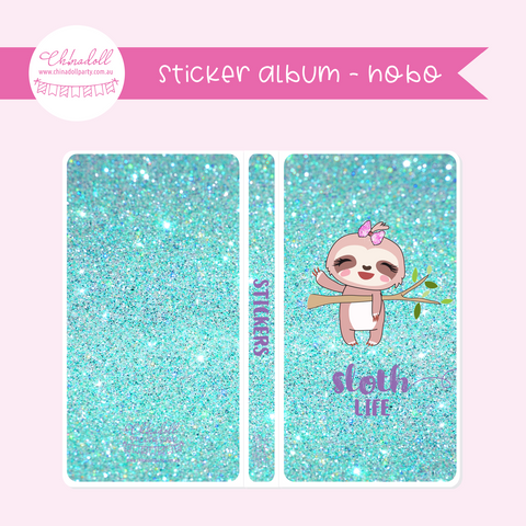 sloth life | sticker album - hobo weeks | SO-901