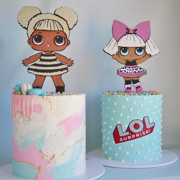 LOL surprise doll cake topper | queen bee | READY TO SHIP | glitter