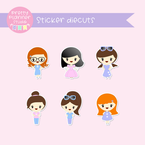 'Tis the season - Planner friends | sticker diecuts | TS-005/1