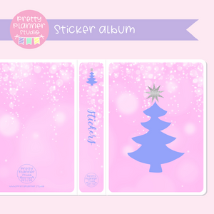 'Tis the season - Christmas tree | sticker album | TS-006/2