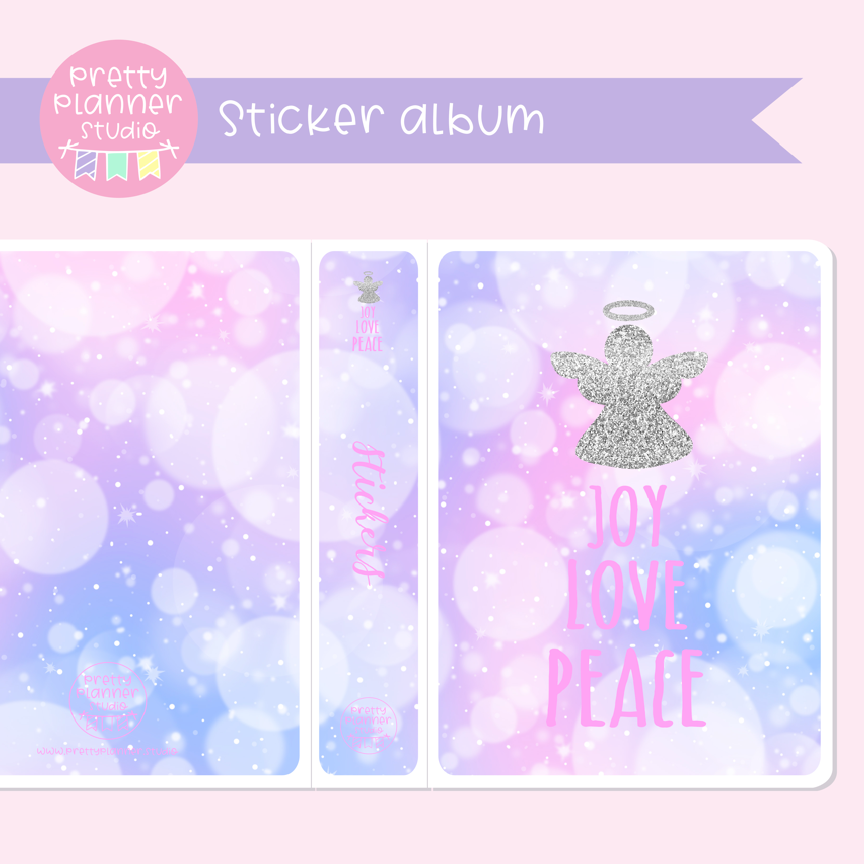 'Tis the season - Joy love peace | sticker album | TS-006/3