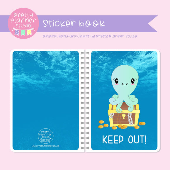 Under the sea - Keep out! | sticker book | US-007/1