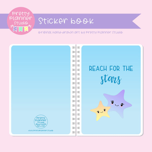 Under the sea - Reach for the stars | sticker book | US-007/2