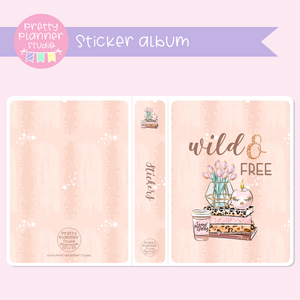 Wild & chic - Wild and free | sticker album | WC-006/1