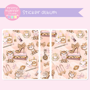 Wild & chic - Decor | sticker album | WC-006/2