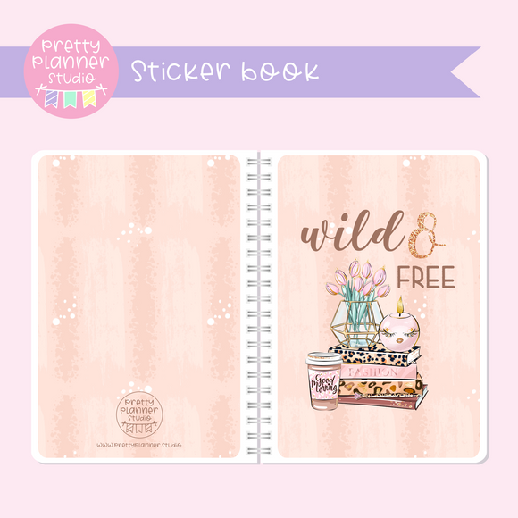 Wild & chic - Wild and free | sticker book | WC-007/1