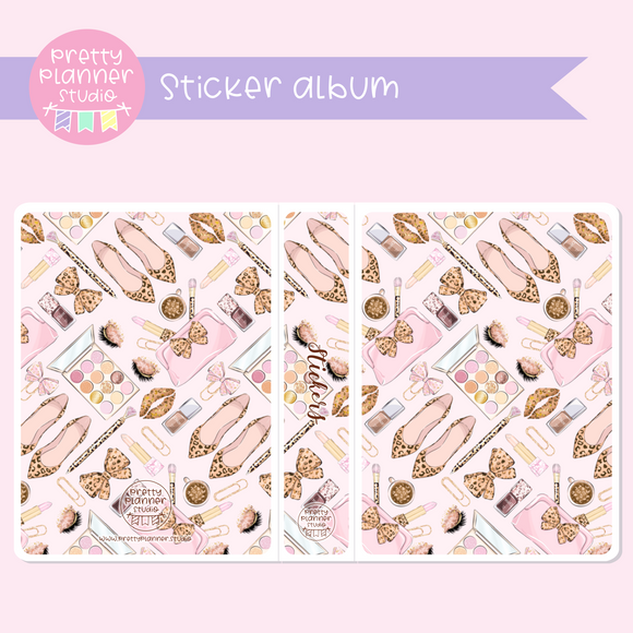 Wild & chic - fashion - Beauty | sticker album | WF-006/3