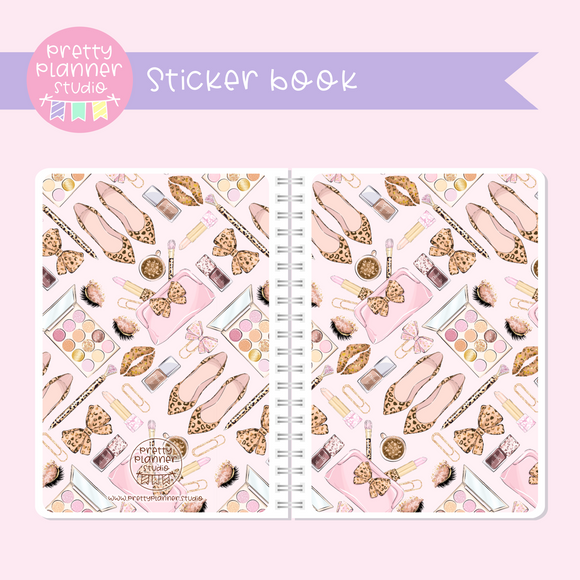 Wild & chic - fashion - Beauty | sticker book | WF-007/3