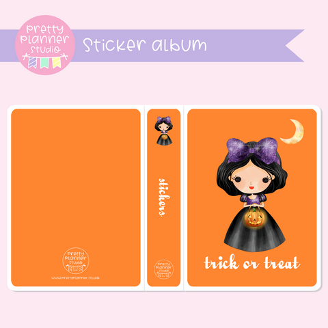 Wicked lil princess | sticker album | WP-901