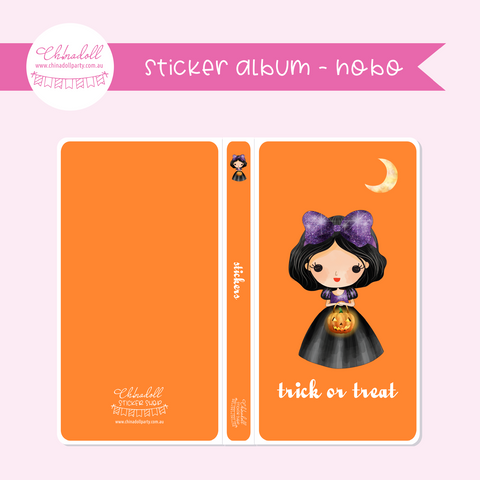 witch or princess | sticker album - hobo weeks | WP-901