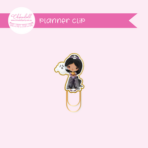 Wicked lil princess - jasmine | planner clip | WP-931