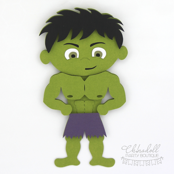 superheroes backdrop decoration | hulk