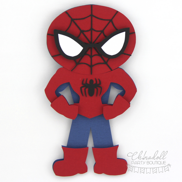superheroes backdrop decoration | spiderman