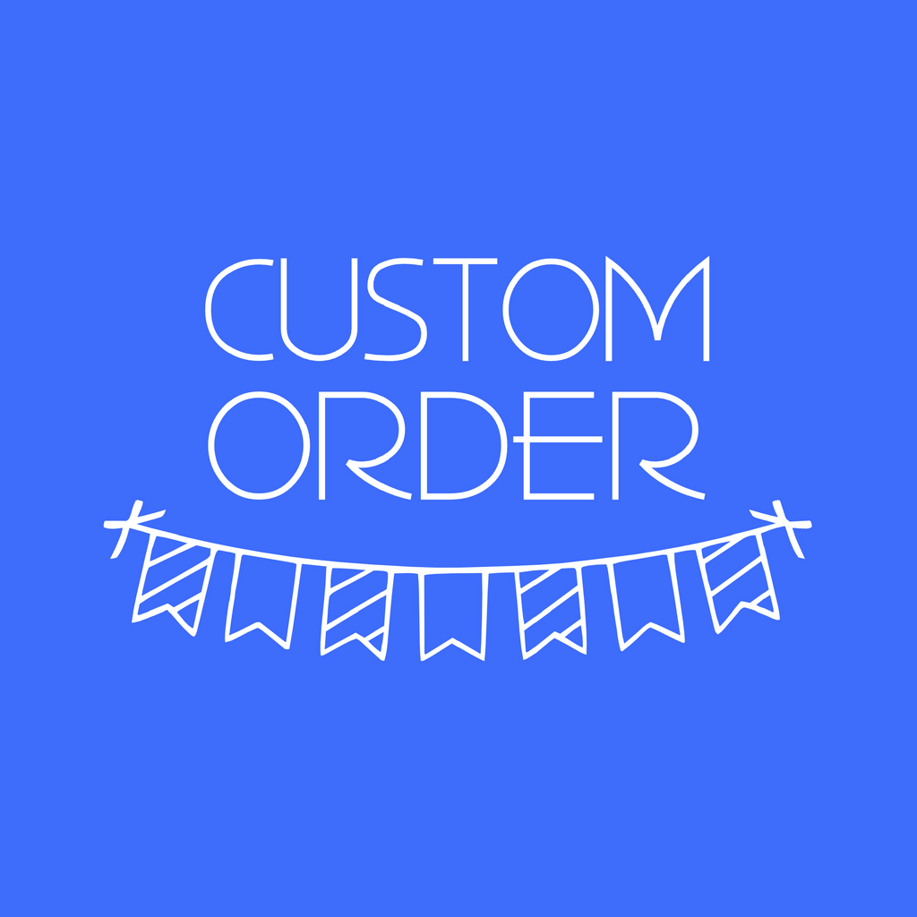 CUSTOM ORDER FOR TANYA | cake toppers
