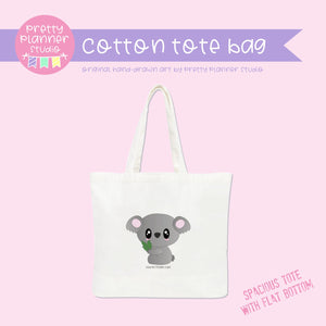 Bush friends - Koala | cotton tote bag | BF-009/2
