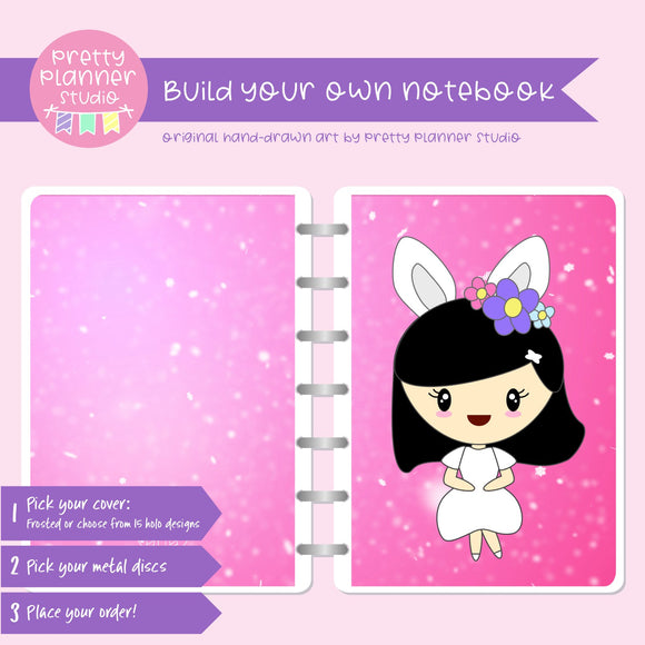 Hoppy Easter - Mila | Build your own notebook | HE-008/1