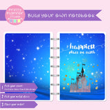 Happiest place on earth - Castle | Build your own notebook | HP-008/1