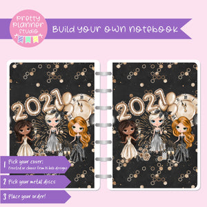 New year cheer - Friends | Build your own notebook | NY-008/1