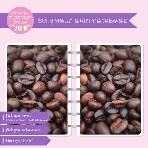 Photo - Coffee beans | Build your own notebook | PH-008/1