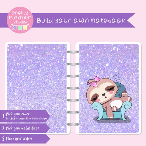Sloth Life II - Lounging around | Build your own notebook | SL-008/1