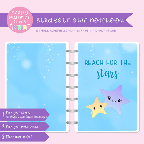 Under the sea - Reach for the stars | Build your own notebook | US-008/2