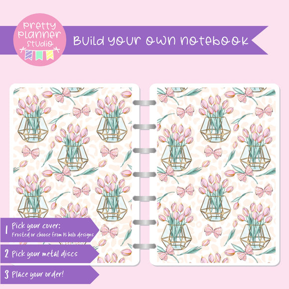 Wild & chic - Tulips | Build your own notebook | WC-008/4
