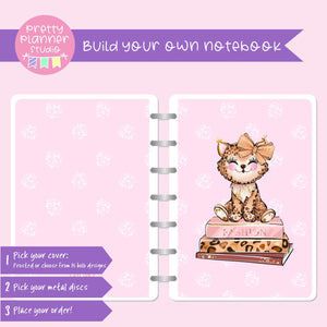 Wild & chic - Baby leopard | Build your own notebook | WC-008/5