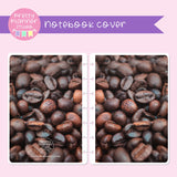 Photo - Coffee beans | holographic planner / notebook cover | Build your own notebook | PHP-008/1