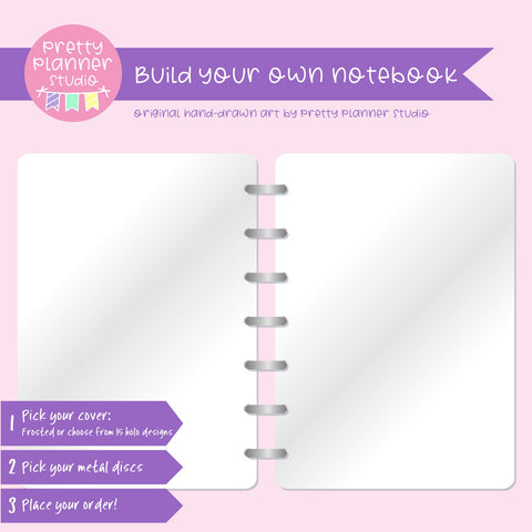 Plain - frosted | Build your own notebook | NB-008/1