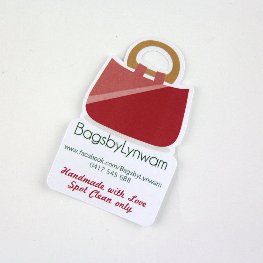 business swing tags | business card