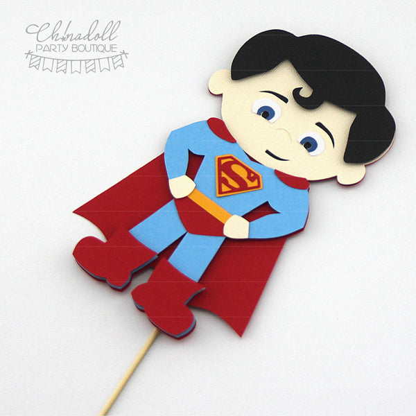superheroes cake topper | superman